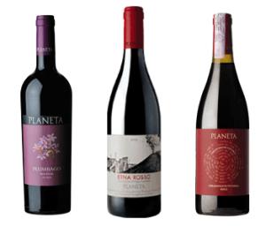 Quelques vins issus du Nero d'Avola
